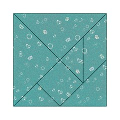 Sweetie Soft Teal Acrylic Tangram Puzzle (6  x 6 )