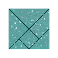 Sweetie Soft Teal Acrylic Tangram Puzzle (4  x 4 )