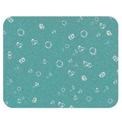 Sweetie Soft Teal Double Sided Flano Blanket (Medium)