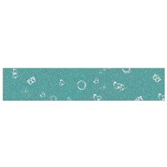 Sweetie Soft Teal Flano Scarf (Small)