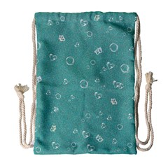 Sweetie Soft Teal Drawstring Bag (Large)