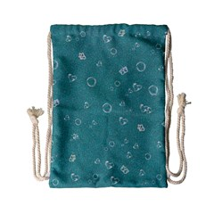 Sweetie Soft Teal Drawstring Bag (Small)
