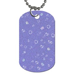 Sweetie Soft Blue Dog Tag (One Side)
