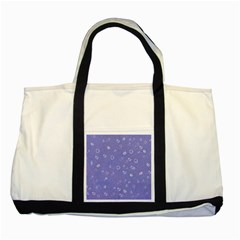 Sweetie Soft Blue Two Tone Tote Bag