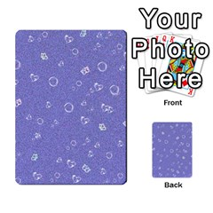 Sweetie Soft Blue Multi Purpose Cards (rectangle)