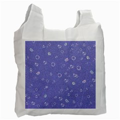 Sweetie Soft Blue Recycle Bag (Two Side)