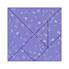 Sweetie Soft Blue Acrylic Tangram Puzzle (6  x 6 )