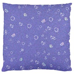 Sweetie Soft Blue Large Cushion Cases (One Side)
