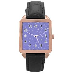 Sweetie Soft Blue Rose Gold Watches