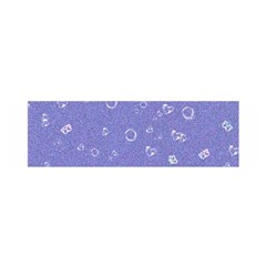 Sweetie Soft Blue Satin Scarf (oblong)