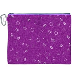 Sweetie,purple Canvas Cosmetic Bag (XXXL)