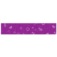 Sweetie,purple Flano Scarf (Small)