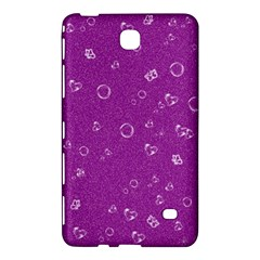Sweetie,purple Samsung Galaxy Tab 4 (7 ) Hardshell Case