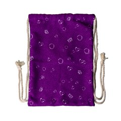 Sweetie,purple Drawstring Bag (Small)
