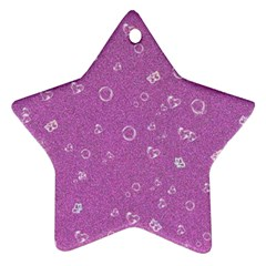 Sweetie,pink Ornament (Star)