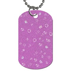 Sweetie,pink Dog Tag (One Side)