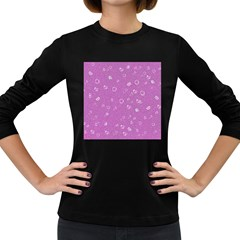 Sweetie,pink Women s Long Sleeve Dark T-Shirts