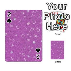 Sweetie,pink Playing Cards 54 Designs