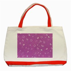Sweetie,pink Classic Tote Bag (Red)