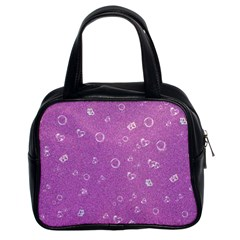 Sweetie,pink Classic Handbags (2 Sides)