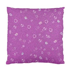 Sweetie,pink Standard Cushion Cases (Two Sides)