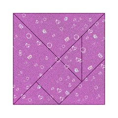 Sweetie,pink Acrylic Tangram Puzzle (6  x 6 )