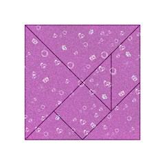 Sweetie,pink Acrylic Tangram Puzzle (4  x 4 )