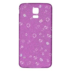 Sweetie,pink Samsung Galaxy S5 Back Case (white)