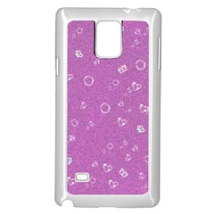 Sweetie,pink Samsung Galaxy Note 4 Case (White)