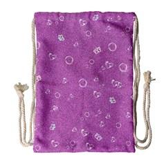 Sweetie,pink Drawstring Bag (large)