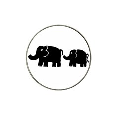 Elephant And Calf Hat Clip Ball Marker (10 pack)