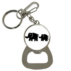 Elephant And Calf Bottle Opener Key Chains