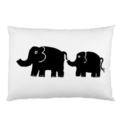 Elephant And Calf Pillow Cases