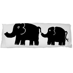 Elephant And Calf Body Pillow Cases Dakimakura (Two Sides)
