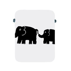 Elephant And Calf Apple iPad 2/3/4 Protective Soft Cases