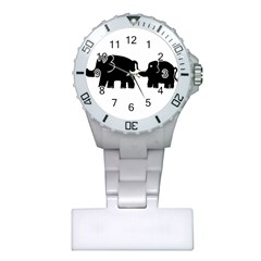 Elephant And Calf Nurses Watches