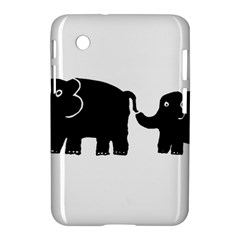 Elephant And Calf Samsung Galaxy Tab 2 (7 ) P3100 Hardshell Case