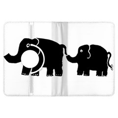 Elephant And Calf Kindle Fire HDX Flip 360 Case