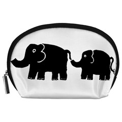 Elephant And Calf Accessory Pouches (Large)