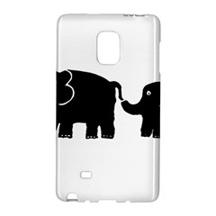 Elephant And Calf Galaxy Note Edge