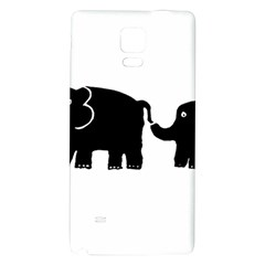 Elephant And Calf Galaxy Note 4 Back Case