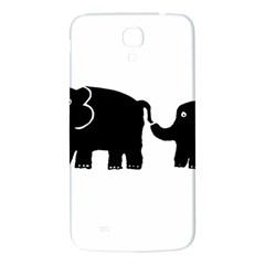 Elephant And Calf Samsung Galaxy Mega I9200 Hardshell Back Case