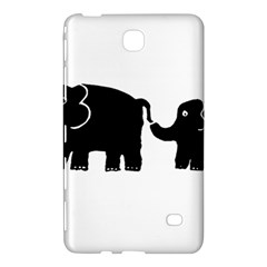 Elephant And Calf Samsung Galaxy Tab 4 (8 ) Hardshell Case