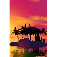 Wonderful Sunset Over The Island 5 5  X 8 5  Notebooks
