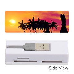 Wonderful Sunset Over The Island Memory Card Reader (Stick)