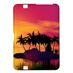 Wonderful Sunset Over The Island Kindle Fire HD 8.9