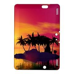 Wonderful Sunset Over The Island Kindle Fire Hdx 8 9  Hardshell Case