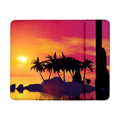 Wonderful Sunset Over The Island Samsung Galaxy Tab Pro 8.4  Flip Case