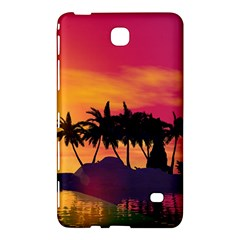 Wonderful Sunset Over The Island Samsung Galaxy Tab 4 (7 ) Hardshell Case