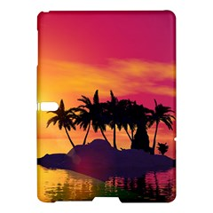 Wonderful Sunset Over The Island Samsung Galaxy Tab S (10.5 ) Hardshell Case